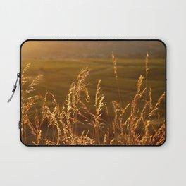 Gold Warm Light - JUSTART © Laptop Sleeve