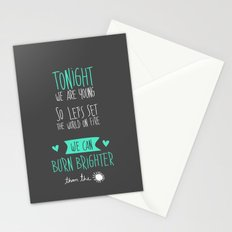 Tonight. Stationery Cards