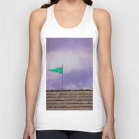 flag Tank Tops featuring Flag by Maite Pons