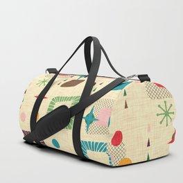 Atomic pattern Duffle Bag