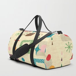Atomic pattern Duffle Bag
