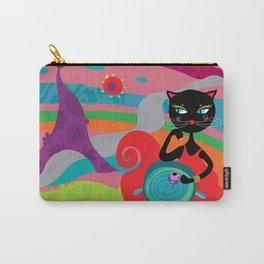 chat noir de paris  Carry-All Pouch