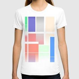 Minimalist Abstract Colour Art T-shirt