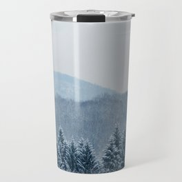New England Snow Travel Mug