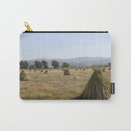 Sesame Crop and Harvest Carry-All Pouch