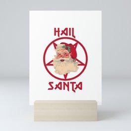 Hail Santa Mini Art Print