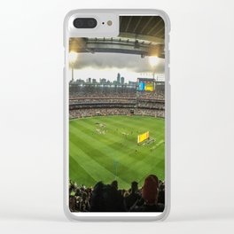 Let the Games Begin at the MCG Clear iPhone Case