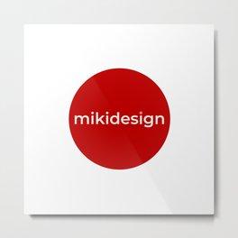 mikidesign co. brand Metal Print