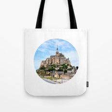 Mont Saint-Michel Tote Bag