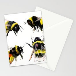 Bumblebee, Bee art, bee design, bees Stationery Cards