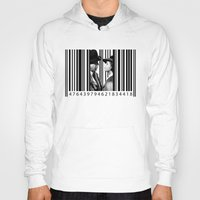 casablanca Hoodies featuring Inside a Barcode. by Luigi Tarini