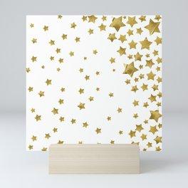 Starry Magic - White Mini Art Print