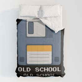 Old School Computer Floppy Diskette Comforters