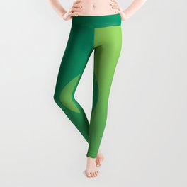 Green Daze Leggings
