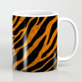 Ripped SpaceTime Stripes - Orange Coffee Mug