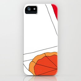 Hot Pizza Box iPhone Case