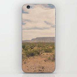 Down Desert Roads II iPhone Skin