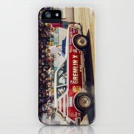 AMC Gremlin X Drag Car iPhone Case