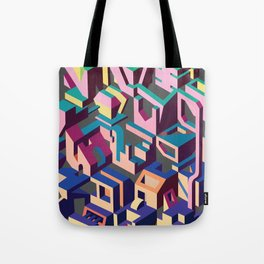 Psychedelic Dissection Tote Bag