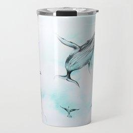 Whale Sky Travel Mug