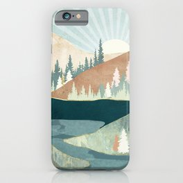 Autumn Sun iPhone Case