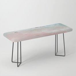 Ocean Pink Blush Bench