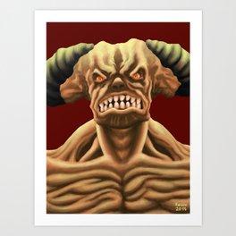 Cyberdemon from DOOM Art Print