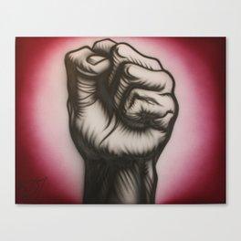 Revolution is now! Canvas Print
