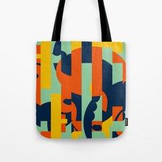Bloodflower Pattern Tote Bag