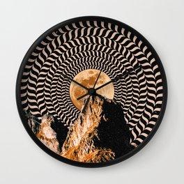 Illusionary Car Trip Wall Clock