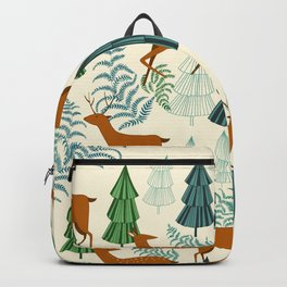 Deers in the forest Backpack