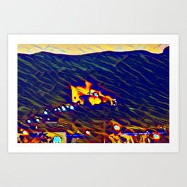 Castelldefels Art Print