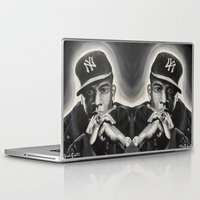 jay z Laptop & iPad Skins featuring Jay-Z by Sarah Painter