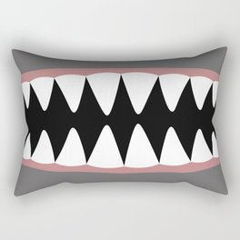 Shark Teeth, Monster, Dinosaur, Alien Rectangular Pillow