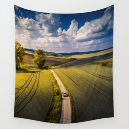 Success is a lonely road Wall Tapestry