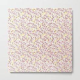 Bubble Rocks-Sunshine: Part of Organic Medallion collection Metal Print