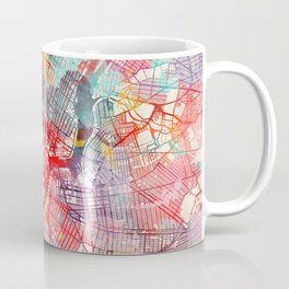 Brooklyn map New York painting 1 Coffee Mug