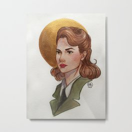 """Let me hear you say, """"Hey, Ms. Carter."""" Metal Print"""