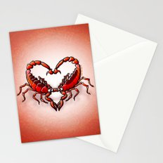 Loving Scorpions Stationery Cards