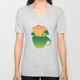 Cup of Nature Unisex V-Neck