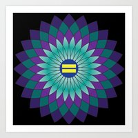 equality Art Prints featuring Equality by Katherine Marshall