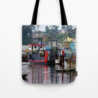 raven Tote Bags featuring Raven by Jeffrey J. Irwin