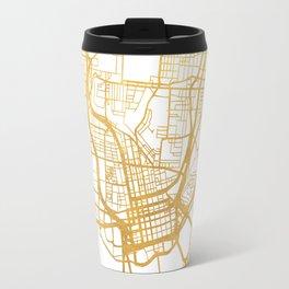 CINCINNATI OHIO CITY STREET MAP ART Travel Mug
