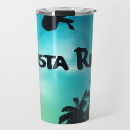 Costa Rica - Tropical Rainforest Poster Travel Mug
