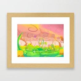 Lost in wonder Framed Art Print