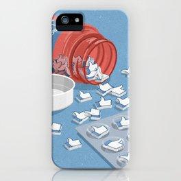 Likes pills iPhone Case