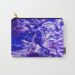 Find the Seahorse Carry-All Pouch