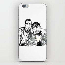 Jay & Ye iPhone Skin