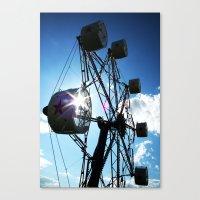 ferris wheel Canvas Prints featuring Ferris Wheel by MSG Imaging