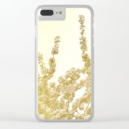 Sunlit Cherry Blossoms - Dreamy Floral Photography - Flower Art Prints, Apparel, Accessories... Clear iPhone Case